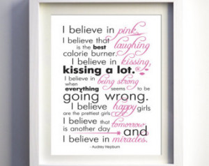 ... Inspirational Quote Print for Girl Gift for Her Bridal Shower