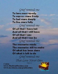 ... grief journey grief poems grief loss heart stuff favorite quotes