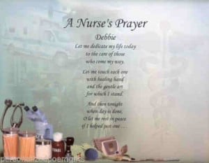 20. Personalized Poem for Nurses.