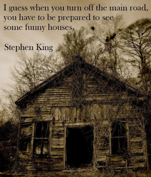 Great Stephen King quote.