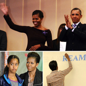 Barack Obama revealed the strategy he and First Lady Michelle Obama ...