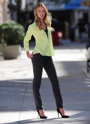 Candice Swanepoel Modeling...