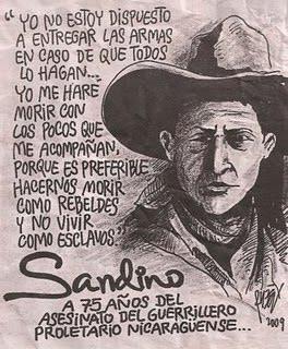 Homenaje a Sandino del año 2009.
