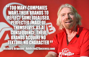 richard branson branding quote