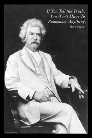 Famous Quotes From Mark Twain aka Samuel L Clemens in Stamp Collecting