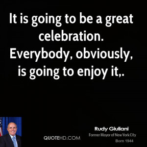 Rudy Giuliani Quotes