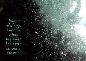 Beautiful Rain Quotes