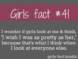 Here are some cute and totally true girl facts... so guys listen up...