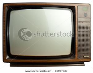 Vintage Tv Set Classic old vintage television