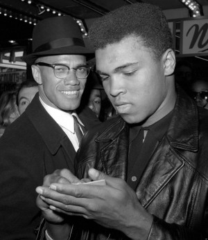 Malcolm X and Muhammad Ali: Two of the greatest fighters ever