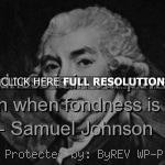 samuel johnson, quotes, sayings, brainy, wisdom samuel johnson, quotes ...