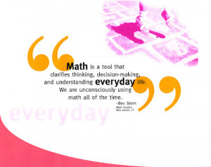 Bevs math quote Funny Math Teacher Quotes