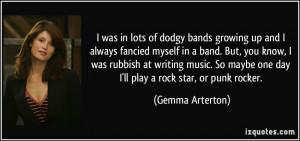 Punk Rock Band Quotes