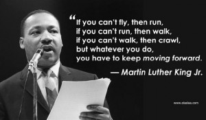 Just keep moving forward...