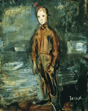 Study for Wangi Boy - William Dobell Paintings