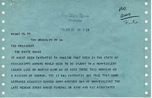 Jackie Robinson to JFK in 1963 telegram: Rev. King needs more ...