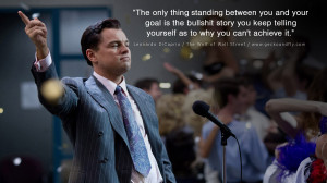 Leonardo Dicaprio Movie Quotes The only thing standing between you and ...