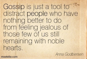 ... is better than no publicity if # people are gossiping about you