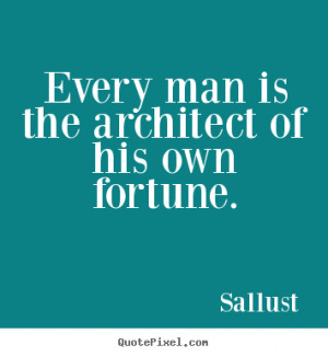 success quote from sallust design your own quote