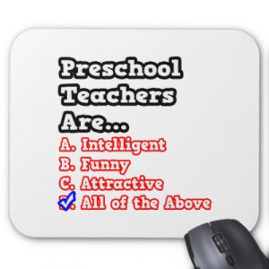 Funny Preschool Teacher Quotes