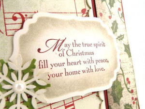 christmas card blessings quotes