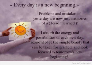Students day new beginning quote