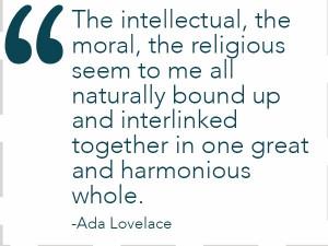 Ada Lovelace - first programmer ever