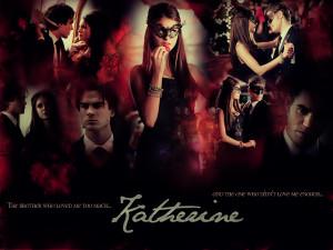 Katherine Pierce Wallpaper - The Vampire Diaries by x3Destinyx3