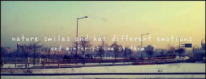 20 Best and Chilly Winter Quotes 4