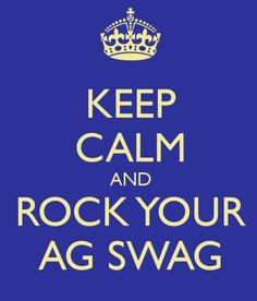 Celebrate FFA Week! #swagriculture Keep Calm