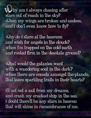 Love Poems For Her That Will Make Her Cry Chasing stars - poem by