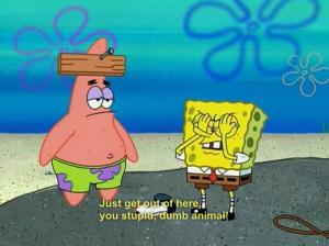 spongebob and patrick quotes tumblr