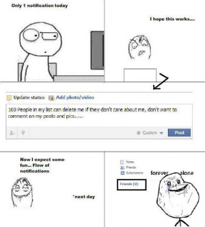 forever alone in facebook p in fb forever alone