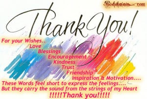 Thank You, Gratitude Quotes, Wishes,kindness, love, encouragement ...