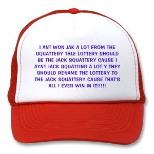 ... THE SQUATTERY MESH HATS from http://www.zazzle.com/squidbillies+gifts