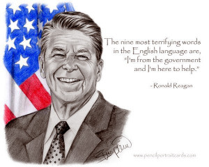 Reagan's Famous (Ridiculous) Nine Words