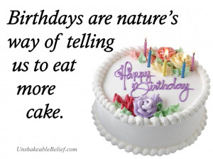 funny-Birthday-Quotes - Birthday - Cake