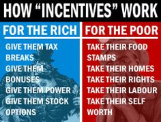 how to make the rich and poor work harder. In order to make the rich ...