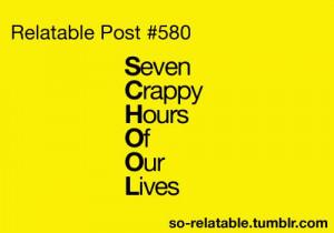 lol so true high school quotes | So Relatable - Relatable Posts ...