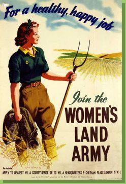 Women's role in world war one