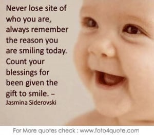 Smiles quotes – Count your blessings and simle