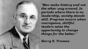 An introduction to the history of the president harry s truman