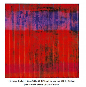 Gerhard Richter Wand Oil
