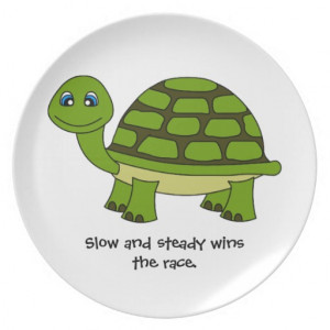 Cute Silly Slow Poke Turtle...