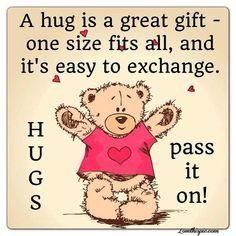 hug love quotes cute hug heart happy happy quotes cute quotes teddy ...