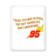 Lightning Quotes iPad Case for