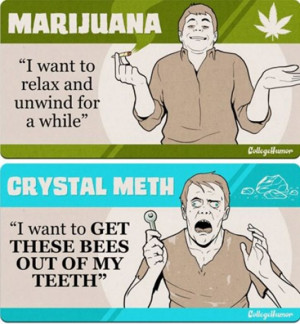 Crystal Meth: Not even once.