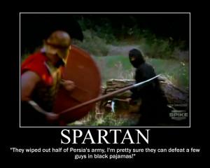 Spartan motivational by Hailtothechimp