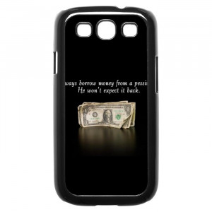 Funny Words Of Wisdom Quotes Galaxy S3 Case