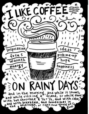 Coffee Inspiration On A Rainy Day